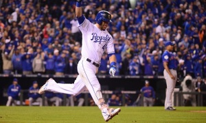 Alex Gordon, Kansas City Royals - 27 Octobre 2015 Mandatory Credit: Jeff Curry-USA TODAY Sports ORG XMIT: USATSI-245840 ORIG FILE ID: 20151027_jla_ac1_235.jpg