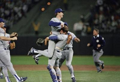 Athletics vs Dodgers World Series 1988