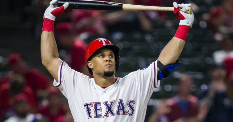 Le club des Texas Rangers compte beaucoup sur Carlos Gomez pour 2017. Photo : Ashley Landis/The Dallas Morning News