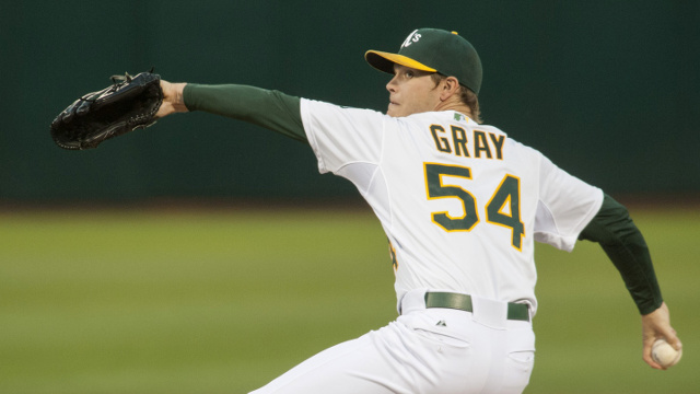 Sonny Gray aura un grand rôle à jouer pour les Oakland A's en 2017. Photo : Getty Images