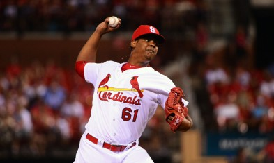 USP MLB: CINCINNATI REDS AT ST. LOUIS CARDINALS S BBN USA MO