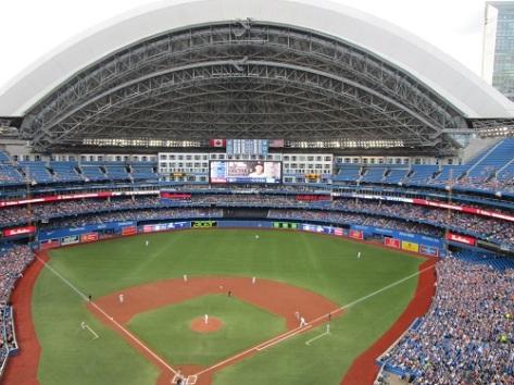 Toit ouvert pour le stade de Toronto
