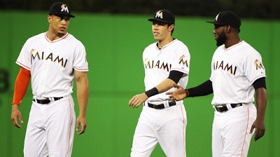 marlins-outfield