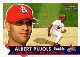 albert pujols rookie fleer