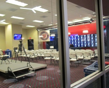 Salle de presse du Nationals Park