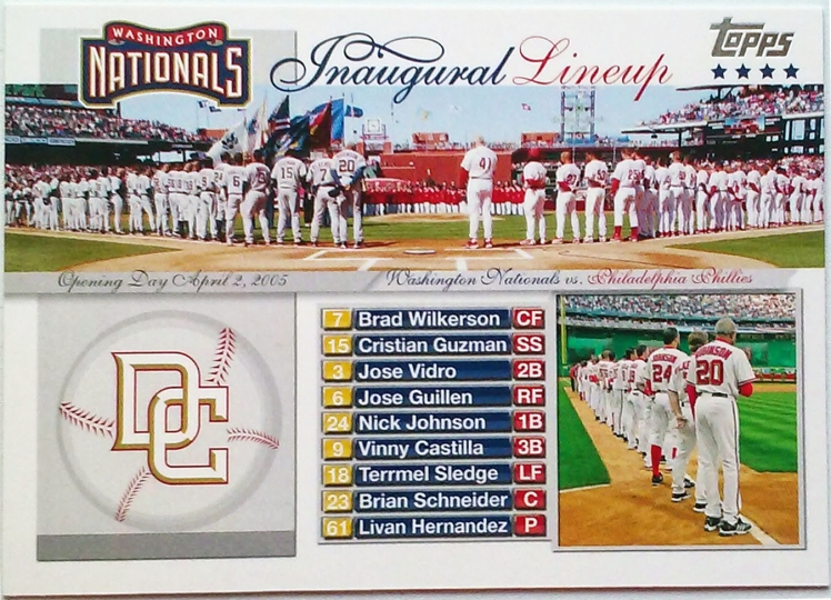 2005-Topps-Washington-Nationals-first-game