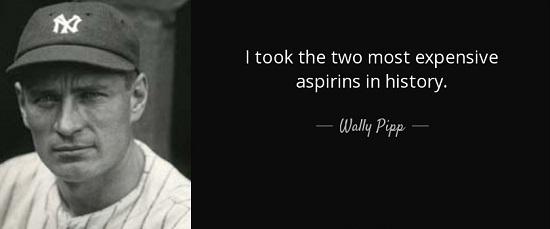 gehrig aspirin